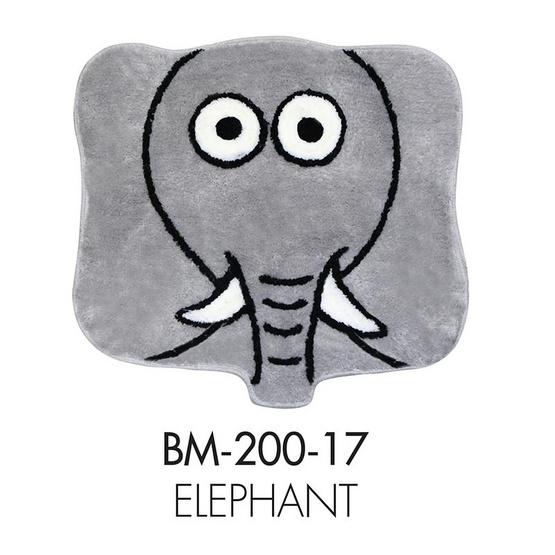 WSP พรมอะครีลิก Funny Mat (55 x 55 cm.) BM-200-17/Elephant