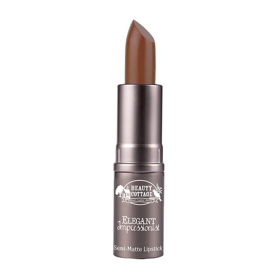 BEAUTY COTTAGE ELEGANT IMPRESSIONIST SEMI - MATTE LIPSTICK (No.25 Colonial)
