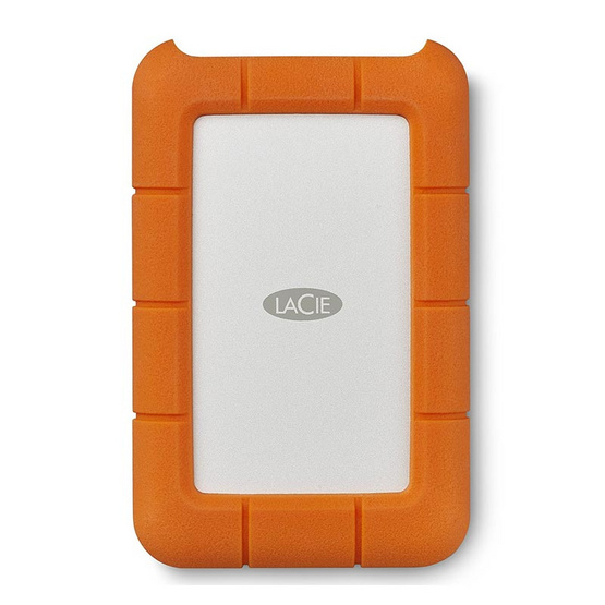 "Lacie SGT 2.5"" Rugged USB 3.1 Type C 2TB"