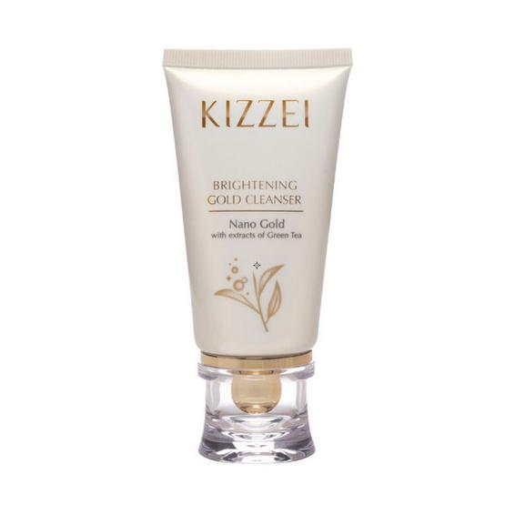 Kizzei โฟมล้างหน้า Brightening Gold Cleanser 60 กรัม