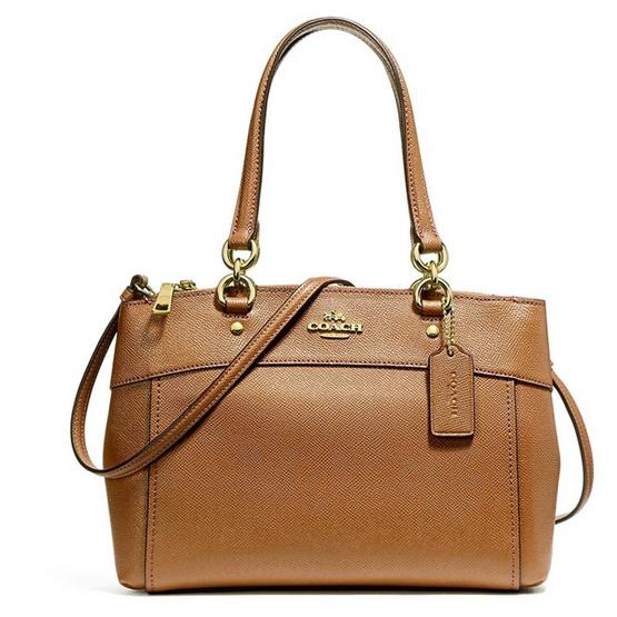 กระเป๋า COACH F25395 MINI BROOKE CARRYALL (IMLQD) [MCF25395IMLQD]