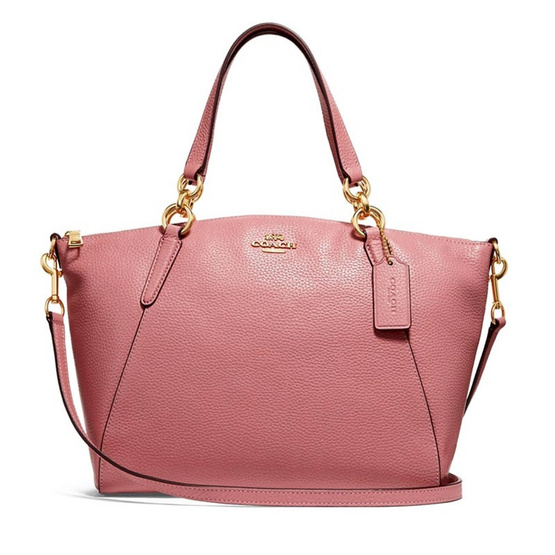 กระเป๋า COACH F31077 SMALL KELSEY SATCHEL WITH DITSY FLORAL PRINT INTERIOR (IMNB2) [MCF31077IMNB2]