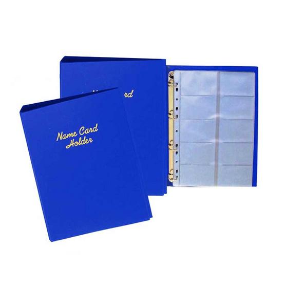 Robin สมุดนามบัตร No.35/004 คละสี (แพ็ค 2 เล่มสีเดียวกัน)