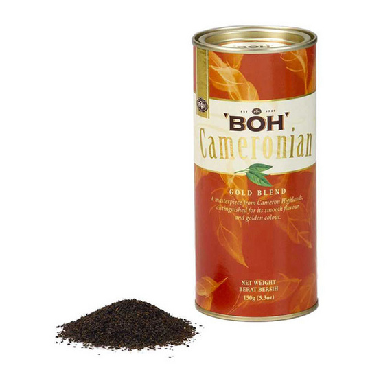 BOH ใบชาคาเมโรเนียนโกล์ดเบลนด์ตราโบ๊ บรรจุ 150 กรัม