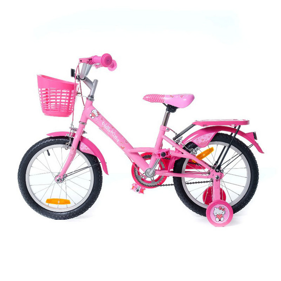 "LA Bicycle จักรยานเด็ก รุ่น เฮลโล คิดตี้ 16"" Pink Heart"