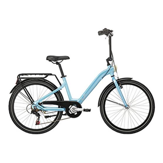"LA Bicycle จักรยานซิตี้ไบค์ รุ่น เซนส์ 24"" 6 สปีด"