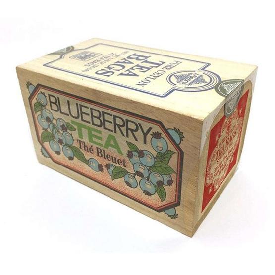 Mlesna Blueberry ชาดำกลิ่นบลูเบอร์รี่ ชนิดซอง ตรามาเลสน่า บรรจุ 25 ซอง/กล่อง (แพ็ค 3 กล่อง)