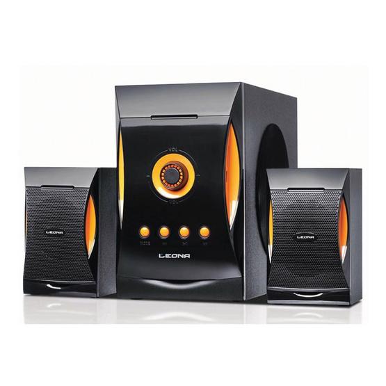 Leona ลำโพง Multimedia Speaker 2.1ch รุ่น LS11