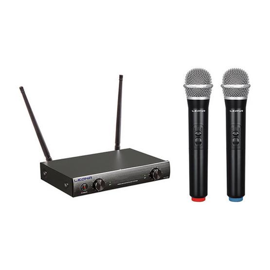 Leona ไมโครโฟนไร้สาย VFH Wireless Mic รุ่น ULV300