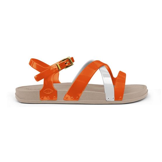 Monobo รองเท้า Norah 2 สีเบจ/สีส้ม