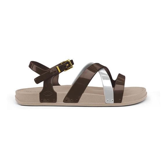 Monobo รองเท้า Norah 2 สีเบจ/สีน้ำตาล