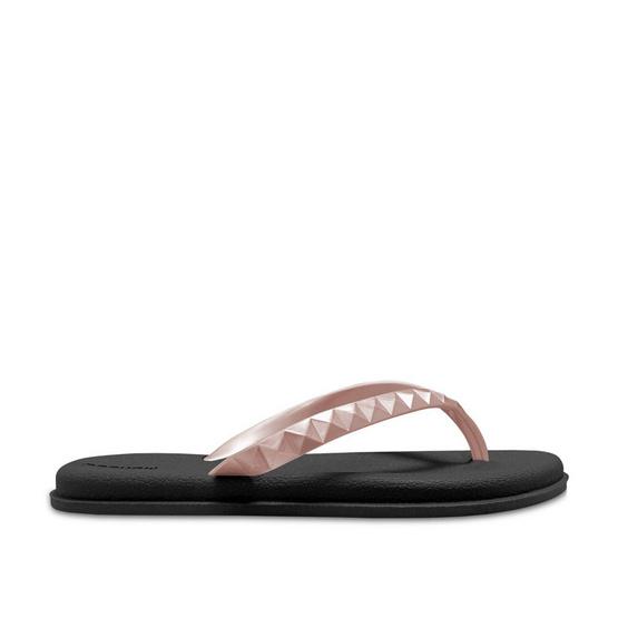 Monobo รองเท้า Jenny 4 สีดำ/ชมพูโรสโกลด์