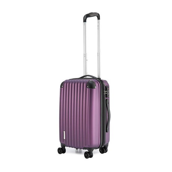 POLO TRAVEL CLUB กระเป๋าเดินทาง HKEXD 8009 ไซต์ 20 สีม่วง