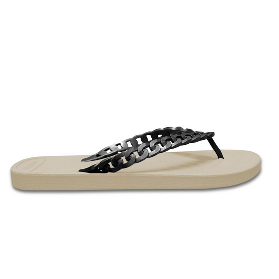 Monobo รองเท้า Jina 3 สีเบจ/ดำเมทาลิค