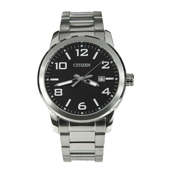 CITIZEN นาฬิกาข้อมือผู้ชาย สายสเตนเลส รุ่น BI1020-57E