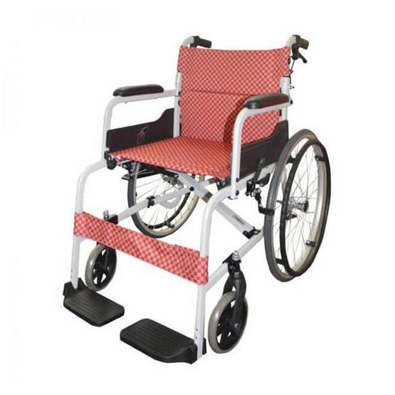 KTHealth รถเข็นผู้ป่วยโซม่า SM-150.5F22 สีแดง รุ่น KT150F22R