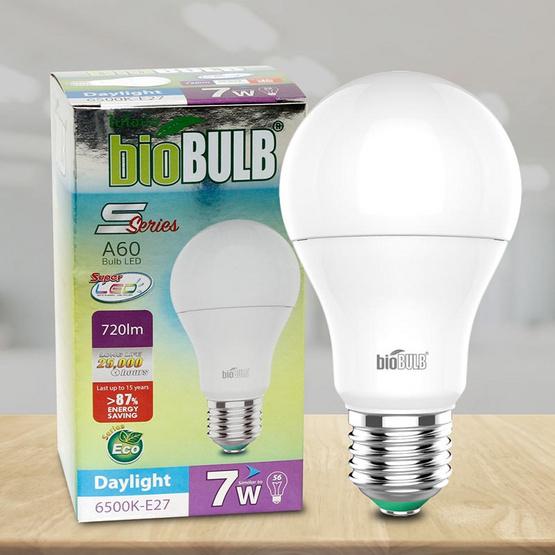 Bio Bulb LED S-Series ขั้ว E27-7 วัตต์ แสงเดย์ไลท์