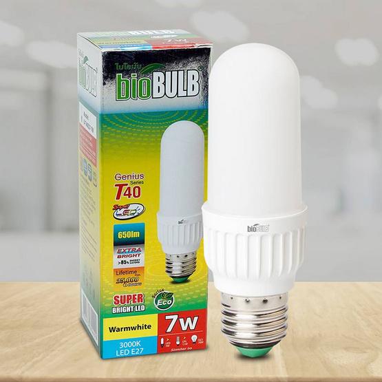 Bio Bulb LED1U T40 ขั้ว E27-7 วัตต์ แสงวอร์มไวท์