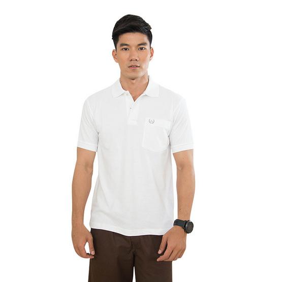 ARROW เสื้อยืดโปโล สีขาว