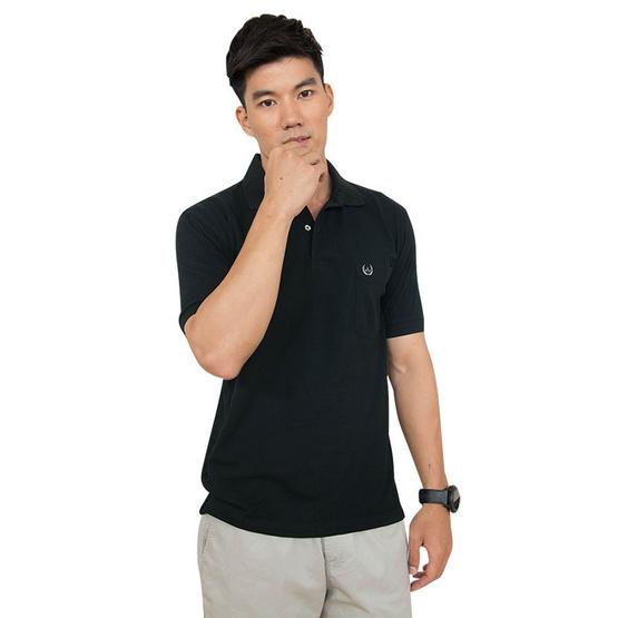 ARROW เสื้อยืดโปโล สีดำ