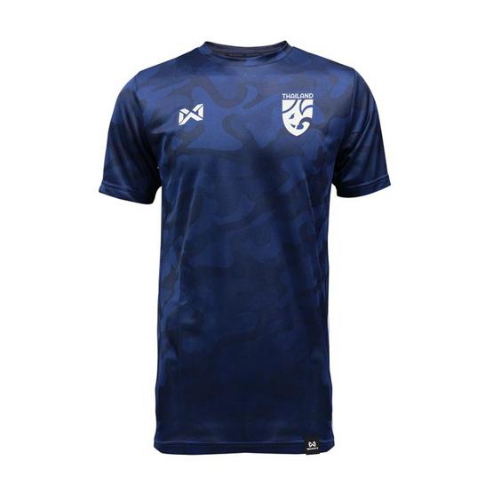 เสื้อเชียร์ฟุตบอลไทย คาโม่ช้างศึก สีกรม