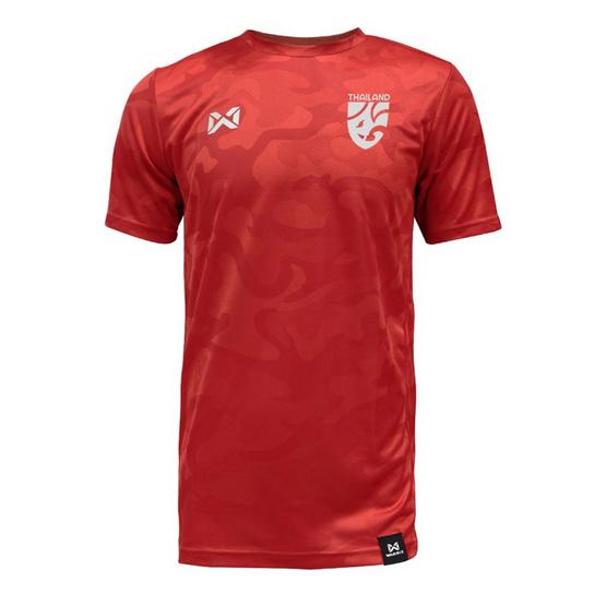 เสื้อเชียร์ฟุตบอลไทย คาโม่ช้างศึก สีแดง