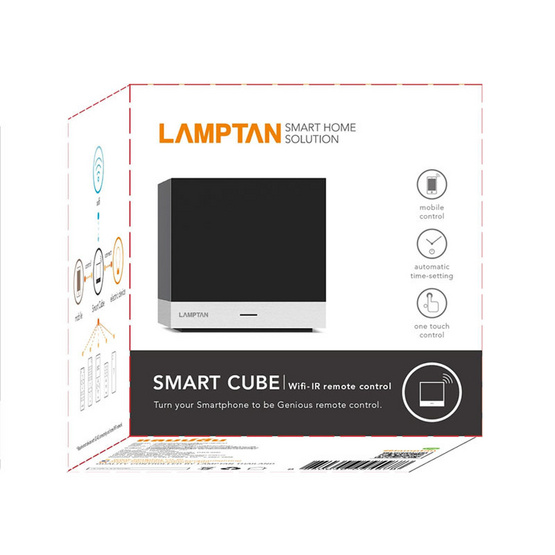 LAMPTAN รีโมทอัจฉริยะ Smart Cube Remote Control