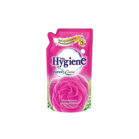 ไฮยีน ผลิตภัณฑ์ปรับผ้านุ่มเข้มข้น กลิ่นสวีทคิส 580 มล. สีชมพู