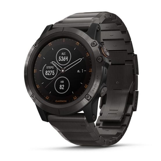 Garmin นาฬิกาอัจฉริยะ Fenix 5X Plus