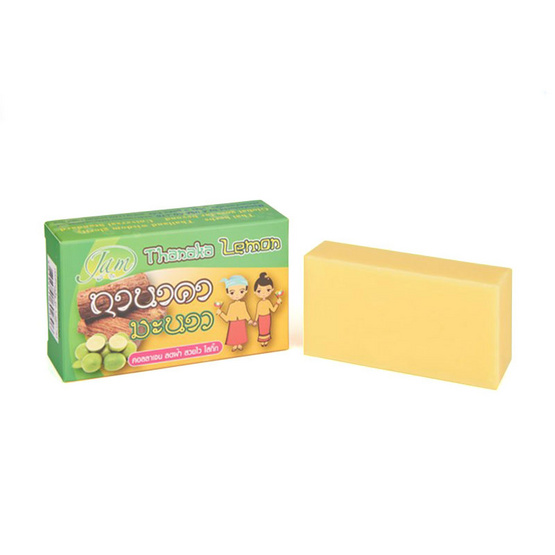 Jam Thanaka Lemon Soap 135 g Pack 3
