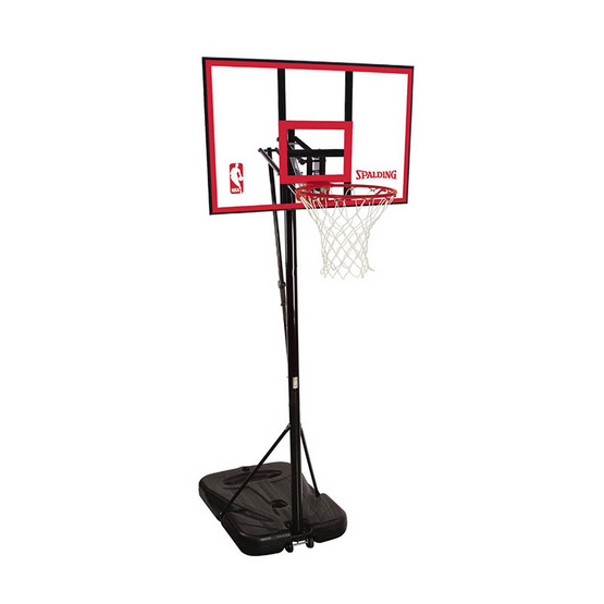 Spalding แป้นบาสเก็ตบอลโพลีคาร์บอเนต 44 นิ้ว รุ่น PORTABLE 73351CN