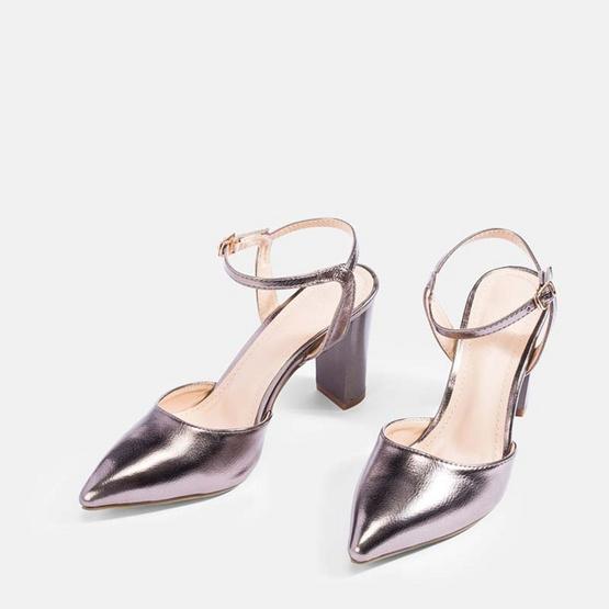 Maria Pia รองเท้า รุ่น BelindaAnkle Strap High Heels 76-2794 -GRY