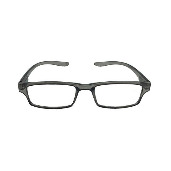 NAKOMO แว่นตาอ่านหนังสือขาเกี่ยวคอ สีเทา รุ่น NHRG-0320TG