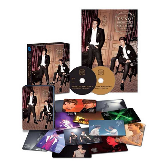 DVD TVXQ! Album The 4th Live World Tour - Catch Me in Seoul (2DVD)