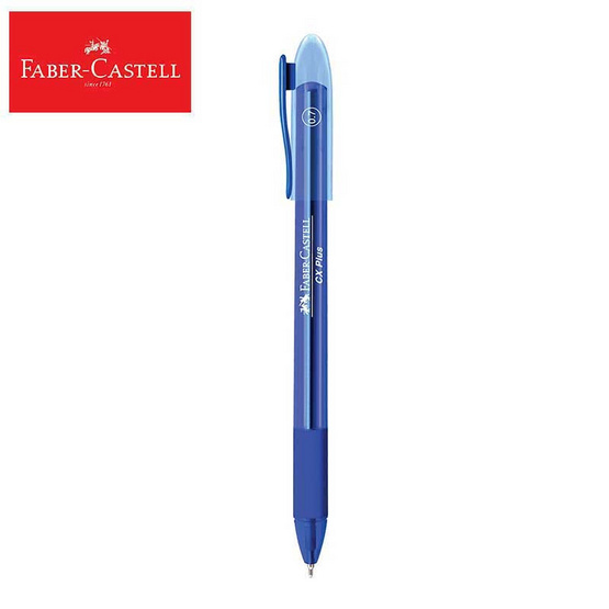 Faber-Castell ปากกาลูกลื่น CX Plus 0.7 มม. (บรรจุ 10 ด้ามในกล่อง)