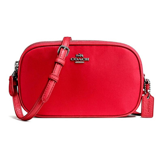 กระเป๋า COACH F87093 CROSSBODY POUCH IN NYLON (QBDN8) [MCF87093QBDN8]