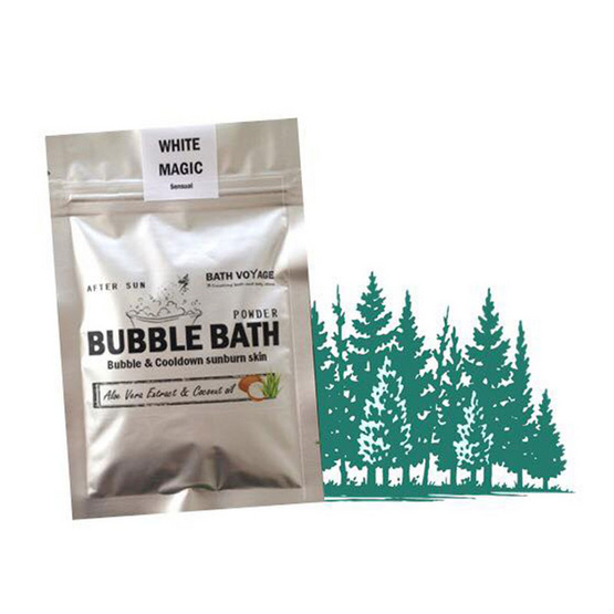 Bath Voyage After sun bubble bath powder White magic (Sensual)