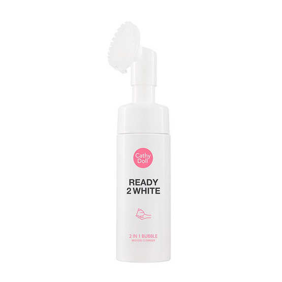 Cathy Doll R2W 2in1 Bubble Mousse Cleanser 120 ml
