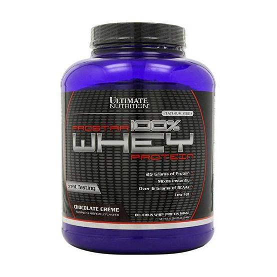 Ultimate PROSTAR Whey Protein เวย์โปรตีน ขนาด 5.28 ปอนด์ รสช็อคโกแลต