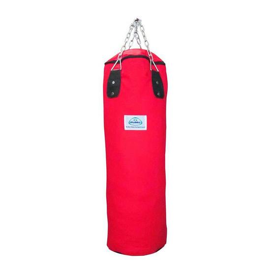 Gramma กระสอบทรายสำหรับมวย รุ่น ผ้าใบ 2 ชั้น สีแดง