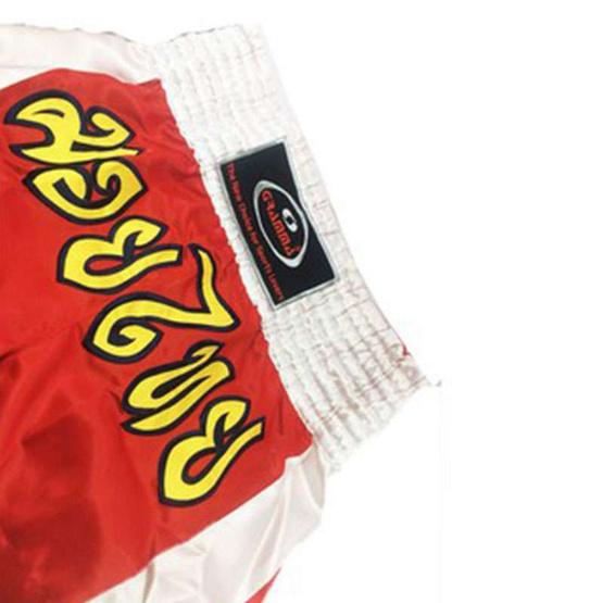Gramma กางเกงมวยไทย สีแดง