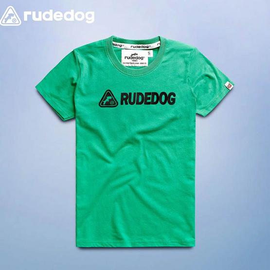 RUDEDOG เสื้อยืด รุ่น  winner สีเขียว