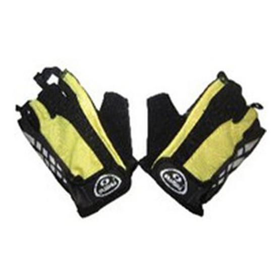 GRAMMA ถุงมือจักรยาน รุ่น SC-W06 สีเหลือง