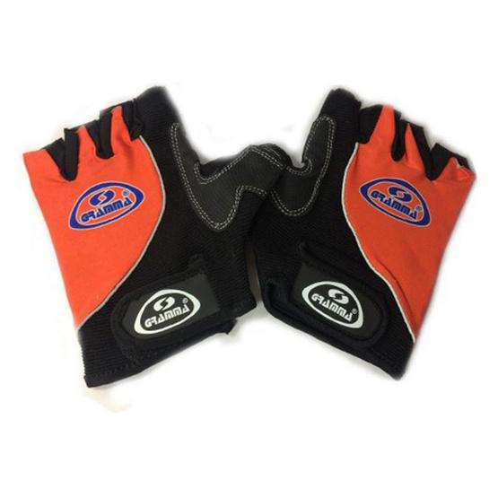 GRAMMA ถุงมือจักรยาน รุ่น SC-W07 สีดำ-ส้ม