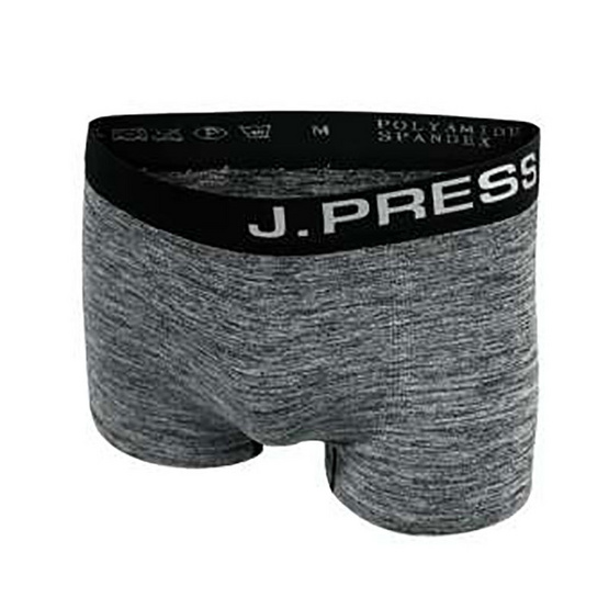J.Press กางเกงชั้นในชายทรงทรั้งค์ seamless Pack3 รุ่น 8215/BL สีดำ