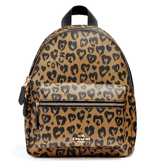 กระเป๋า COACH F24208 MINI CHARLIE BACKPACK WITH WILD HEART PRINT (IMNAM) [MCF24208IMNAM]