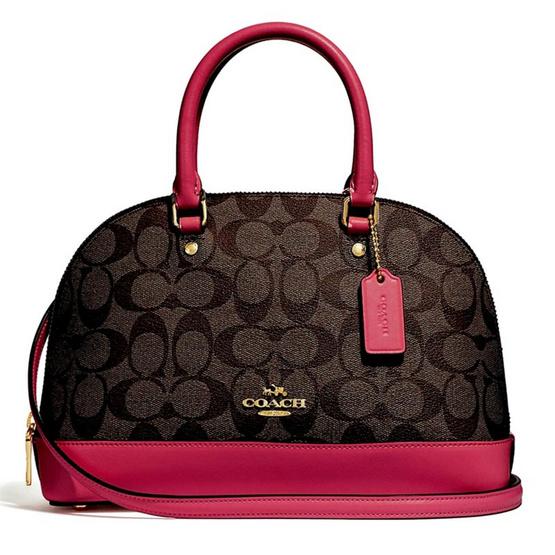 กระเป๋า COACH F27583 MINI SIERRA SATCHEL  (IMNM4) [MCF27583IMNM4]