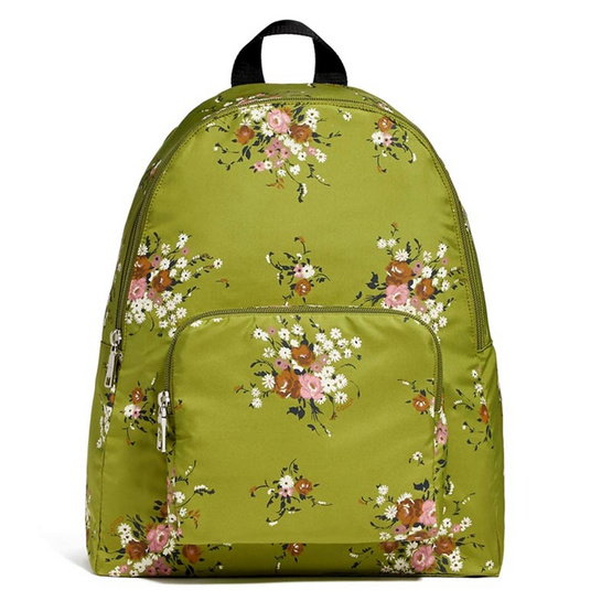 กระเป๋า COACH F27977 PACKABLE BACKPACK WITH FLORAL BUNDLE PRINT (SVNHY) [MCF27977SVNHY]