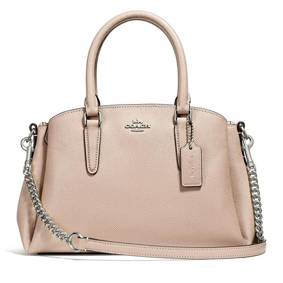กระเป๋า COACH F28977 MINI SAGE CARRYALL (SVLP) [MCF28977SVLP]