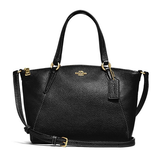 กระเป๋า COACH F28994 MINI KELSEY SATCHEL (IMBLK) [MCF28994IMBLK]